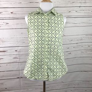 Woolrich Sleeveless Top with cute design.